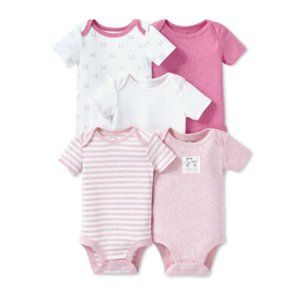 Lamaze 5 Pc 100% Organic Cotton Bodysuit